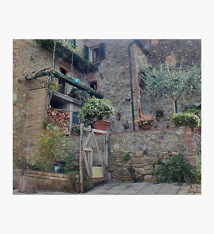 Italian Streetscape Photographic Print