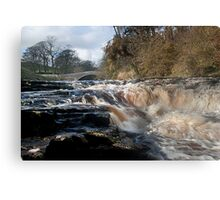 Stainforth Force, Yorkshire Dales  Canvas Print