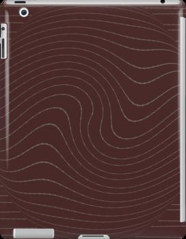 Brown iPad Case by Betty Mackey