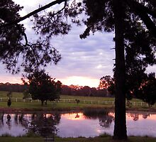 Sunset St Mary's Towers Retreat Centre Douglas Park NSW by OzNatureshots