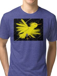 Zapdos Through the Storm Tri-blend T-Shirt