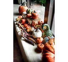Pumpkins II Photographic Print