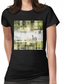 Tape Echo Forest Womens Fitted T-Shirt