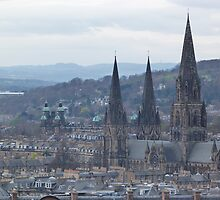 View from Edinburgh Castle by Sandra Caven