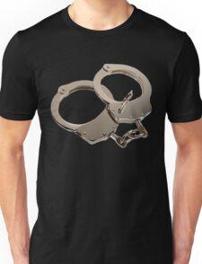 Hand Cuffs - Get matching keys shirt! Unisex T-Shirt