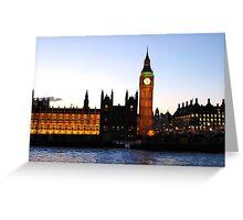 BIG BEN-London. Greeting Card