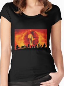 The Fellowship are Being Watched Women's Fitted Scoop T-Shirt