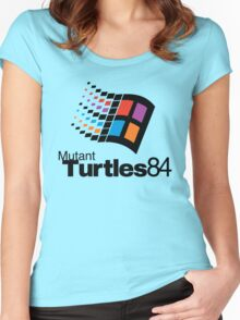 Turtles 84 Women's Fitted Scoop T-Shirt