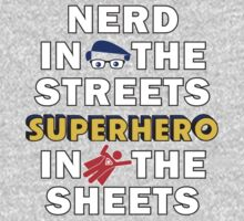 Nerd in the Streets by rexraygun