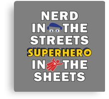 Nerd in the Streets Canvas Print