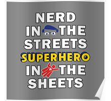 Nerd in the Streets Poster