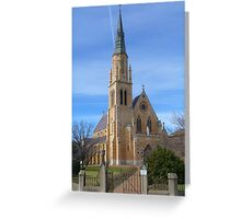 St Marys Cathedral, Mudgee, NSW Greeting Card