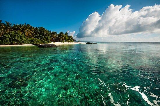 Emerald Purity. Kuramathi Resort. Maldives by JennyRainbow