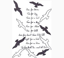 One for Sorrow, Two for Joy Unisex T-Shirt