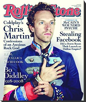 Chris Martin Rolling Stone Cover by Jonnypuff