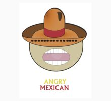 ANGRY MEXICAN LOGO - White only by ANGRYMEXICAN