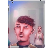 Just three friends chilling in the city iPad Case/Skin