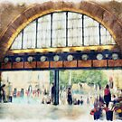 Flinders Street Station  #1 by Lynda Heins