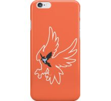 PKMN Silhouette - Fletchling Family iPhone Case/Skin