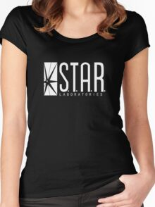 Star Labs © Women's Fitted Scoop T-Shirt
