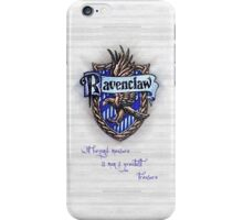 Ravenclaw Crest iPhone Case/Skin