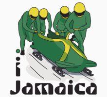 I LOVE JAMAICA T-shirt by ethnographics