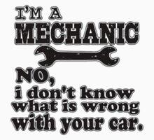mechanic  Kids Tee