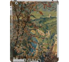 Vintage poster - Italy iPad Case/Skin