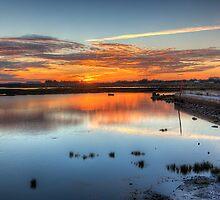 Sunset Quay by manateevoyager