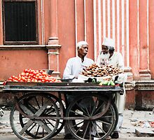 Street Stalls, Jaipur ~ India by KerryPurnell
