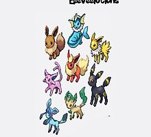 Eeeveelutions-Ipod by ThatGingerSheep