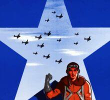 Send Us More ... And Fast -- World War 2 Sticker