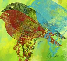 The Robin - 2012 by Sue Flask