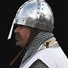 Medieval Knight Portrait by patjila