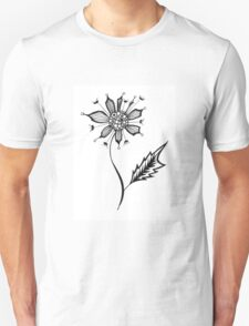 Pointy Floral Unisex T-Shirt