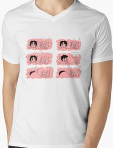 I like his silly face Mens V-Neck T-Shirt