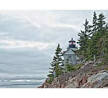 Bass Harbor Head Light Photographic Print