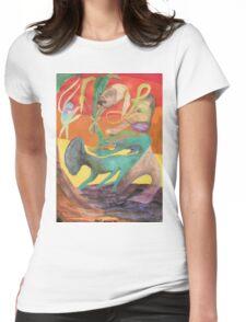 Spiritual Portrait - Jamie B. Womens Fitted T-Shirt