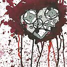 The cogs of my heart turn for you <3 by Natasha O'Connor