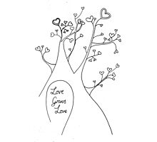 Love Grows Love Photographic Print