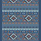 Aztec Pattern Ipad case by Jordan Bails