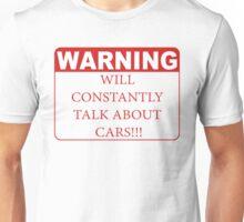 warning cars Unisex T-Shirt