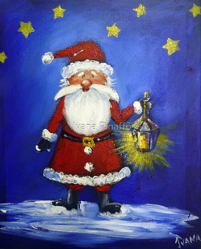 SANTA IS BACK by Ivana Pinaffo