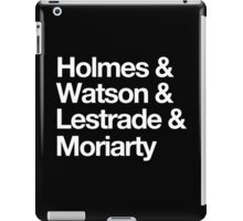The Men Of BBC Sherlock iPad Case/Skin