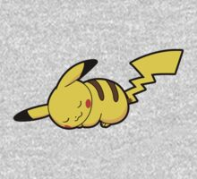 Pikachu Napping Kids Clothes