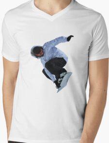 Snowboarder Mens V-Neck T-Shirt