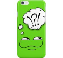 Froglet green iPhone Case/Skin