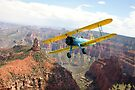 Boeing Stearman at Mount Hayden, Grand Canyon by Gary Eason + Flight Artworks