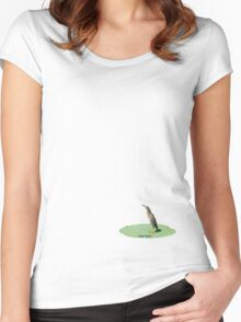 Green Heron Women's Fitted Scoop T-Shirt