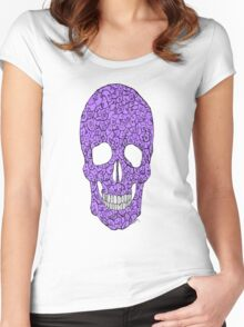 A Skull full of Squishies Women's Fitted Scoop T-Shirt